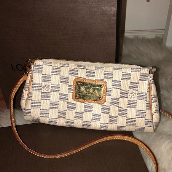 ab337502b1 Louis Vuitton Bags | Sold Authentic Preowned Eva | Poshmark